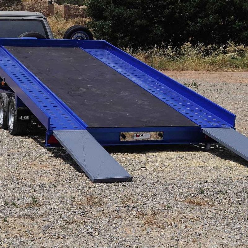 Remolques JOGE - Plataforma porta-vehículos