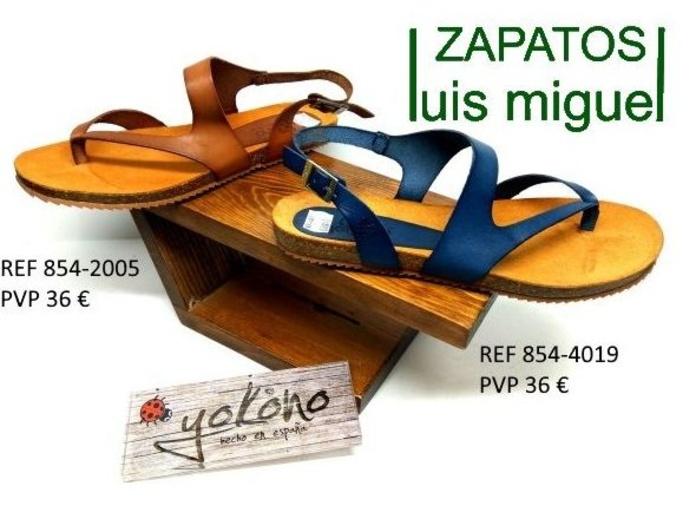 sandalia de dedo con hebilla muy fresquita y comoda: Catalogo de productos de Zapatos Luis Miguel