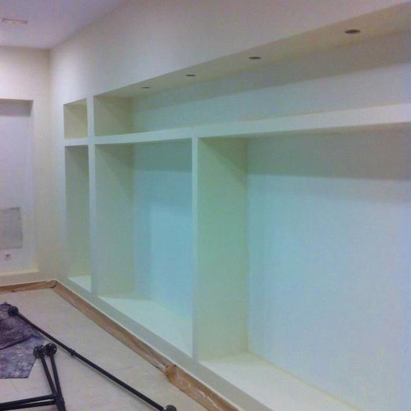Centro comercial en serrano 61: Trabajos realizados de REFORMAS, INSTALACIONES Y CONSTRUCCION ARAGON