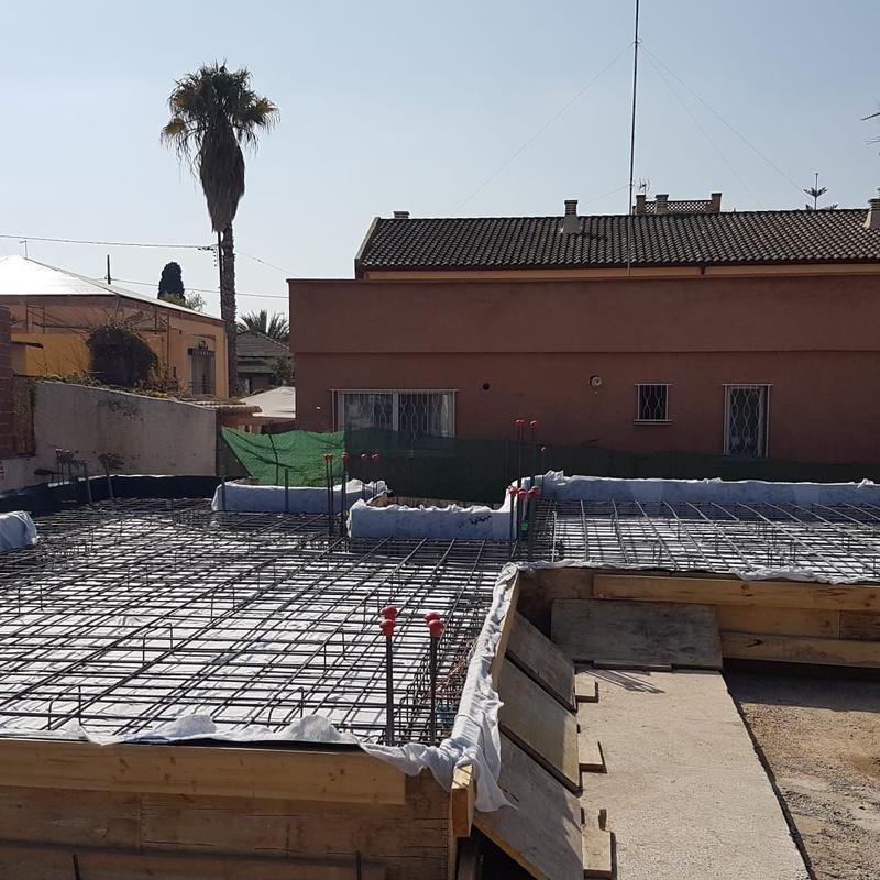 Ferrallado de losa de hormigón Valencia