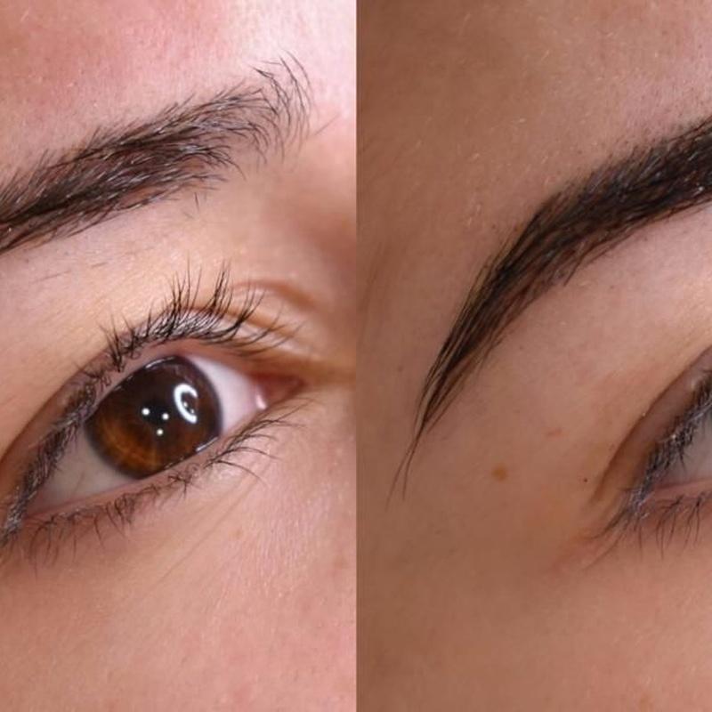 Diseño de cejas y henna
