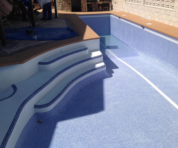 nueva piscina entregada