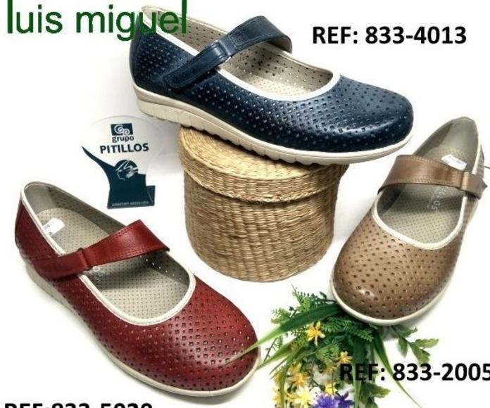 Merceditas de pitilllos calados : Catalogo de productos de Zapatos Luis Miguel