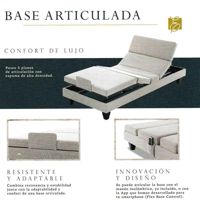 Base articulada Exclusive en Bilbao