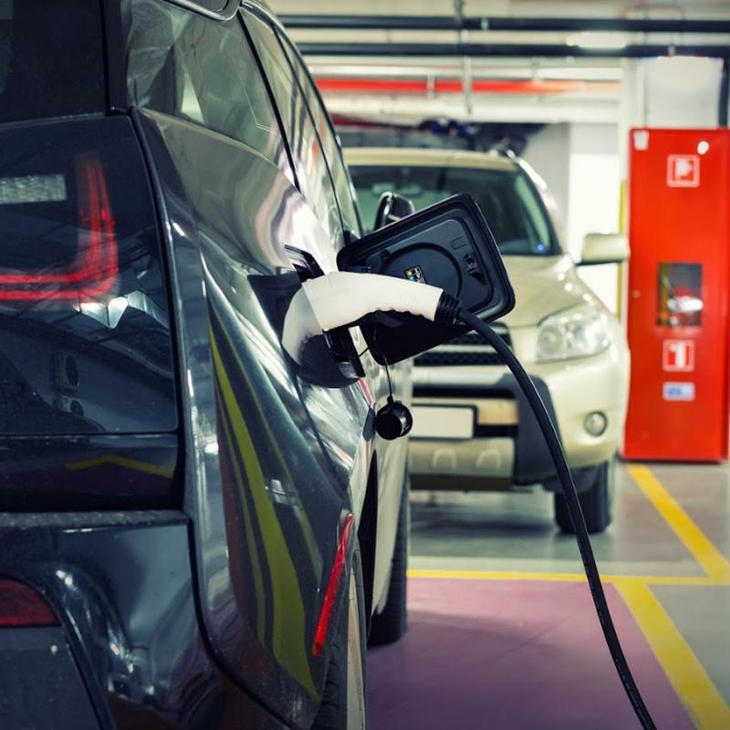 Cargador de vehículos eléctricos: Servicios de Aparcamiento Vibel