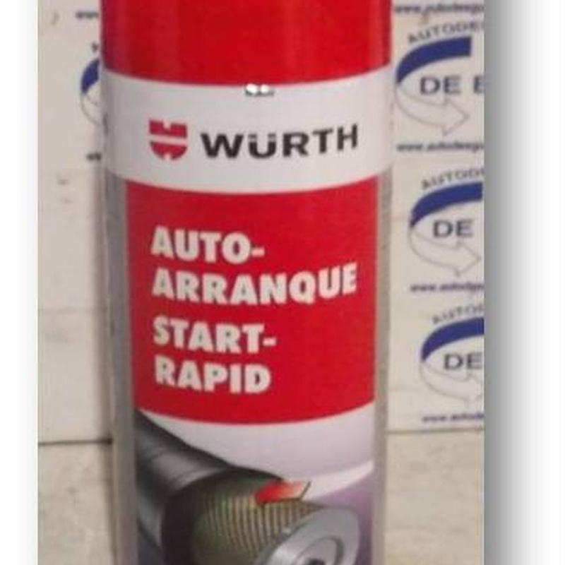 Auto arranque Start-Rapid Wurth: Catálogo de Autodesguaces De Blas