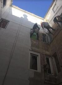 Mantenimiento de patios interiores en Logroño.