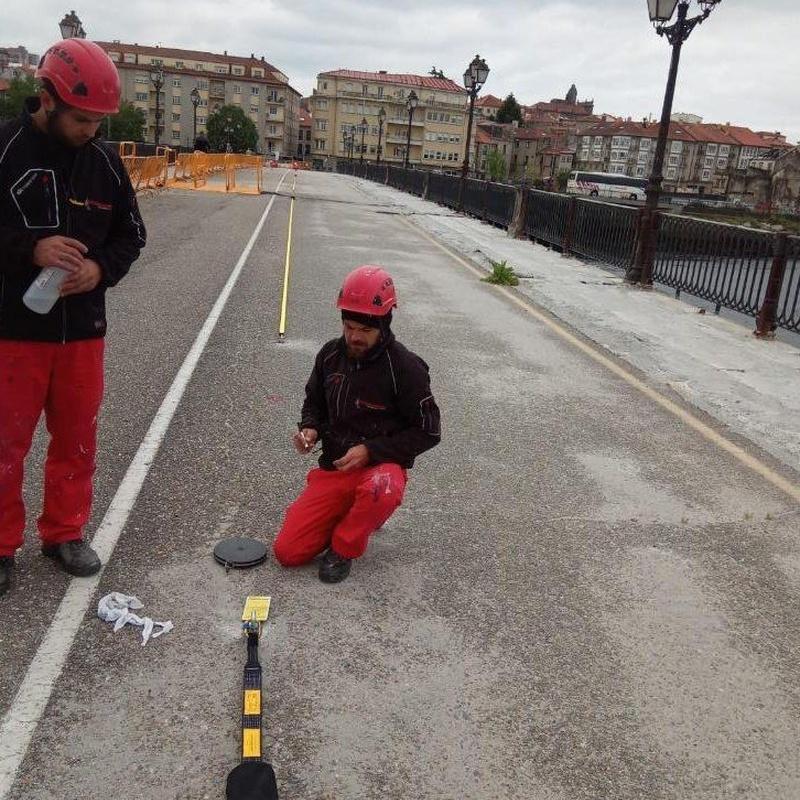 Líneas de vida: Nuestros Servicios de Sergama Reparaciones de Altura
