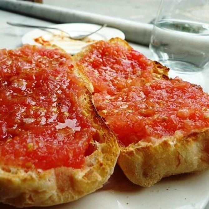 El auténtico pan con tomate