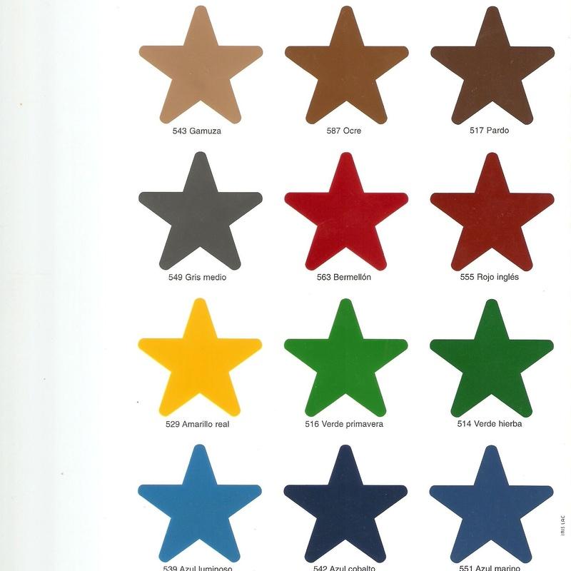 Carta Colores Forja 2: Catálogo de muebles de forja de Forja Manuel Jiménez