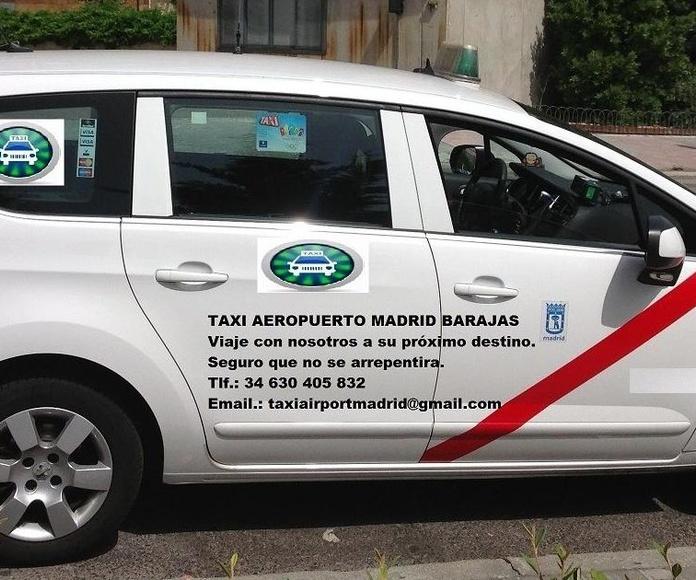 TAXI ALCORCÓN AEROPUERTO DE MADRID