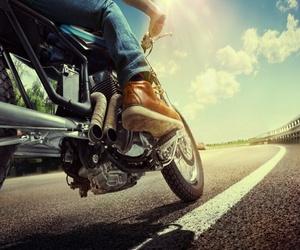 La presión en los neumáticos de moto
