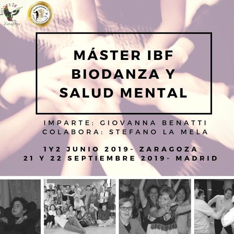 Master IBF. 'Biodanza y Salud Mental