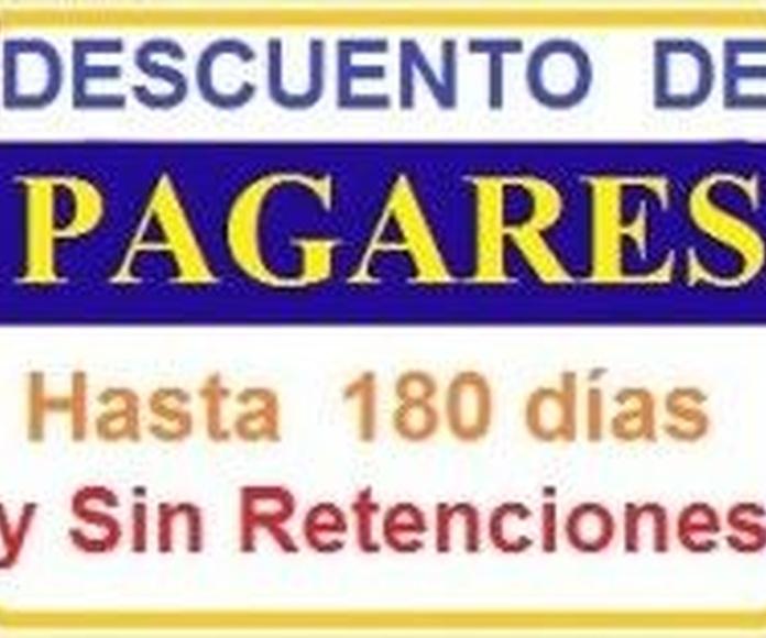 Descuentos de Pagáres: Servicios de Invercredit Spain Funds