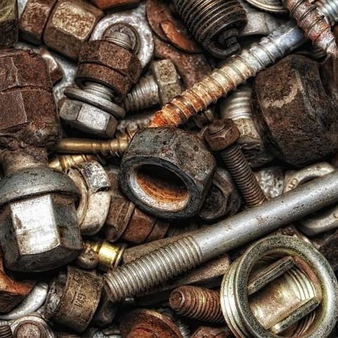 La chatarra, clave en la producción de acero reciclado