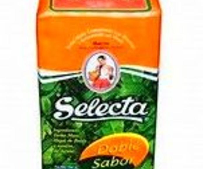 SELECTA DOBLE SABOR: PRODUCTOS de La Cabaña 5 continentes