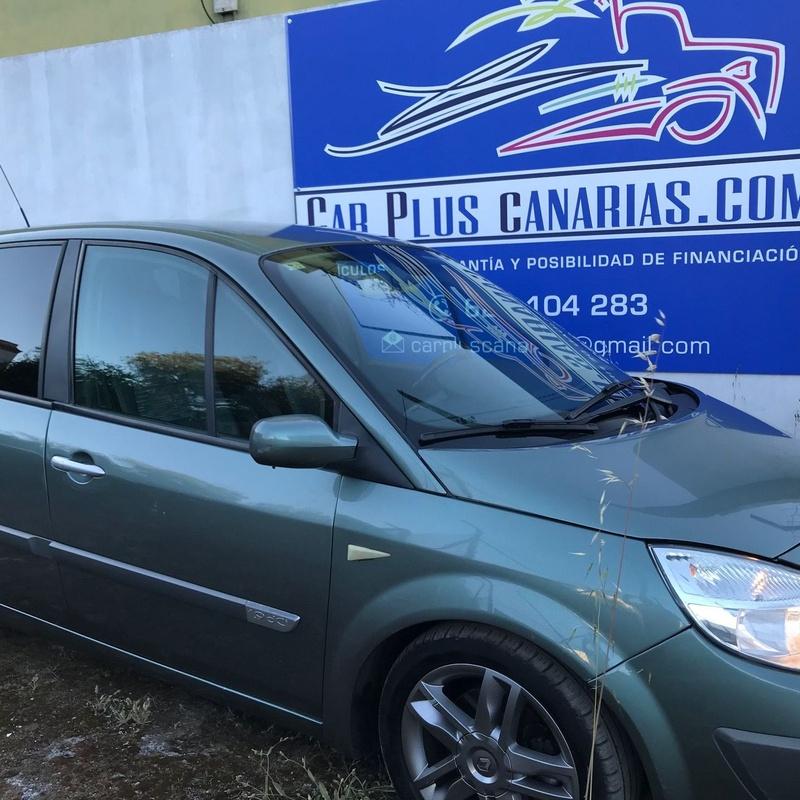 RENAULT MEGANE SCENIC CONFORT 1.9 DCI: Vehículos de ocasión de Car Plus Canarias