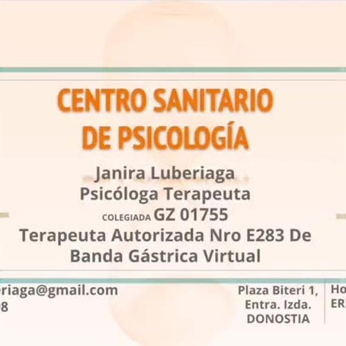 Consulta psicológica San Sebastián   Psicóloga Janira Luberiaga