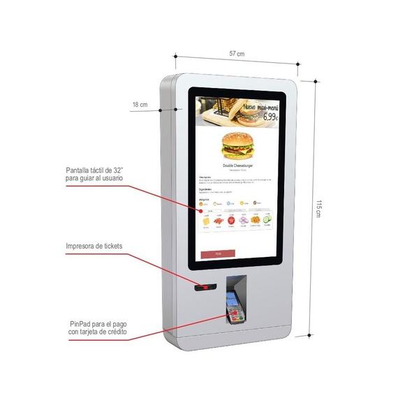 T-Quiosk modelo 20: Productos de Discove