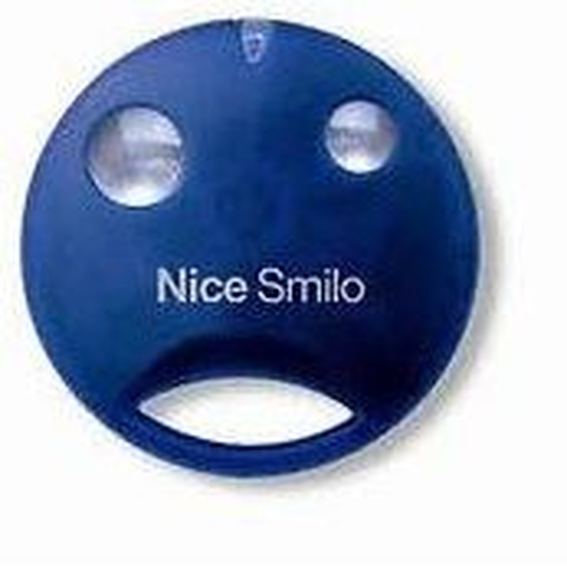 Mando Nice smilo, 2-4 pulsadores, 433Mhz, alta en garaje: Productos de Zapatería Ideal