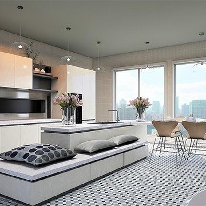 Dónde colocar tus muebles lacados en blanco