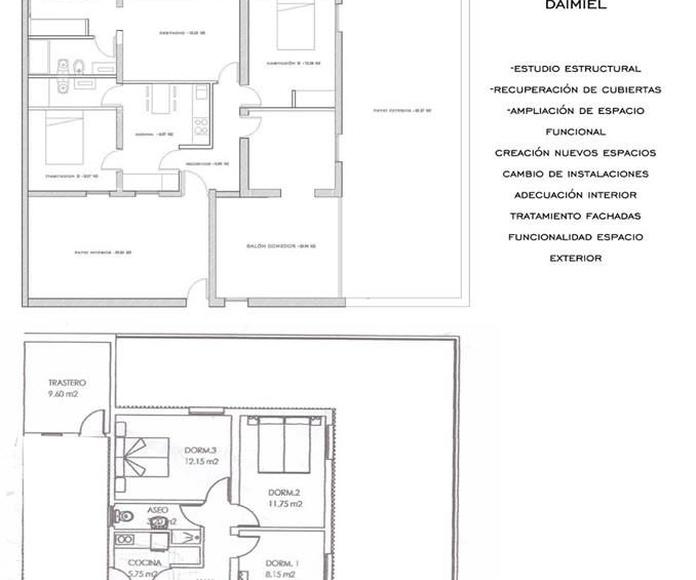 Arquitectura: Servicios de Proyectos Nuevo - Espacio