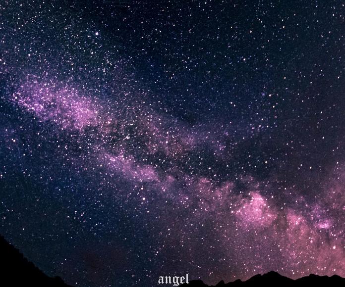 Vía Láctea. Fotografía realizada por Ángel Hernández en Julio de 2018.