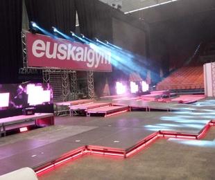Entarimados en BEC para Euskalgym el 16 nov.