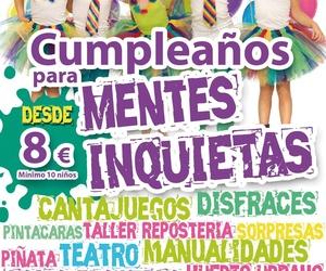 Celebración de cumpleaños en Valdemoro