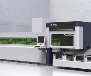 Máquina láser de corte por fibra de tubos metálicos HS-TP65