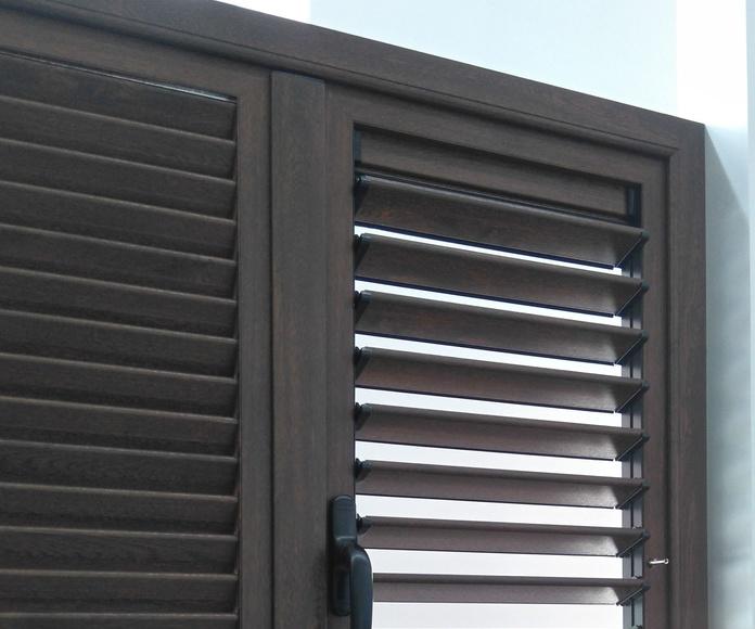 Mallorquinas  en Aluminio: Productos de Ventanas Dekoval