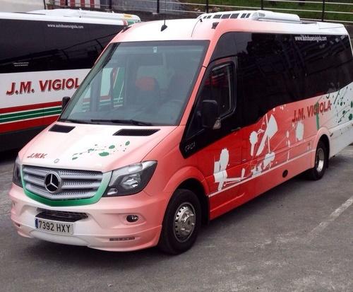 Fotos de Autobuses en Abanto Zierbena   J. M. Vigiola