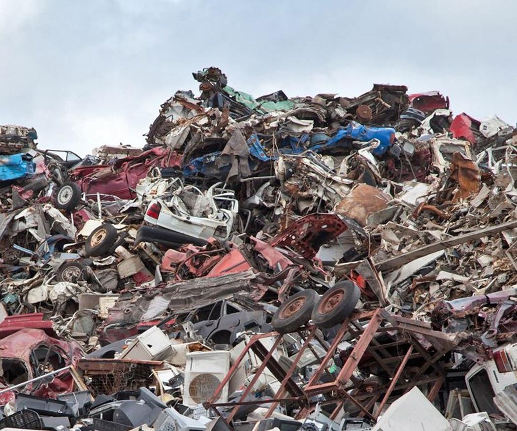 El reciclaje de la chatarra