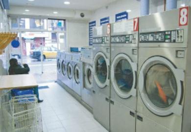 La costumbre anglosajona de acudir a lavanderías