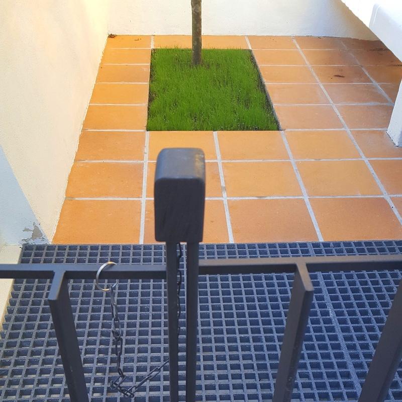 Verja en hierro para vivienda pareada en Bilbao
