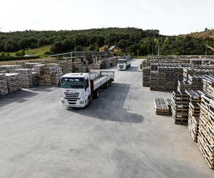 almacenaje y logística- logistic and warehouse for roofing natural slate