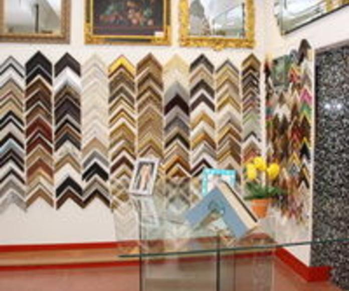 Enmarcacion de Telas, Punto de cruz,,, Bastidores de todo tipo: Productos de Cristalerías Formas - León
