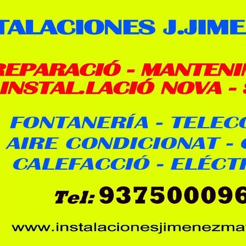 INSTALACIONES, REPARACIONES, MANTENIMIENTOS; CALDERAS, AIRE ACONDICIONADO, GAS, CALEFACCIÓN, FONTANERÍA, ELECTRICIDAD, CERTIFICACIONES, BOLETINES, TRABAJOS DE LAMPISTA...