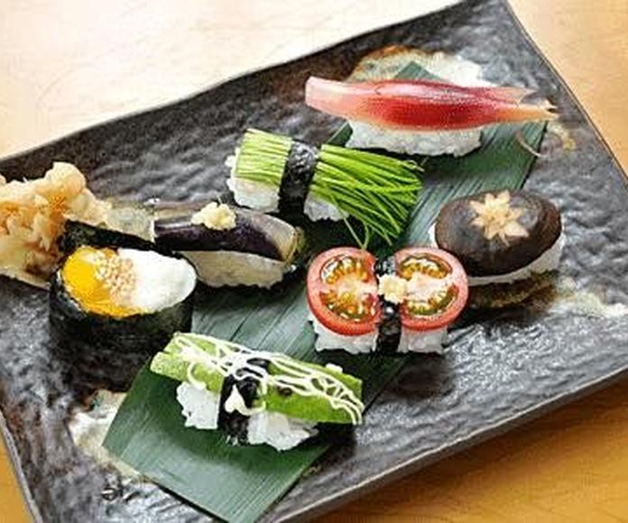 Menú vegetariano: Productos de Restaurante Sa Goleta