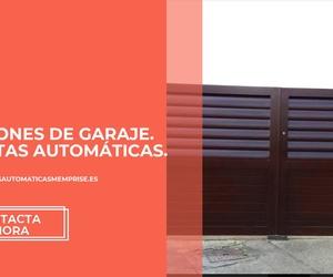 Portones de garaje en Oviedo | Memprise