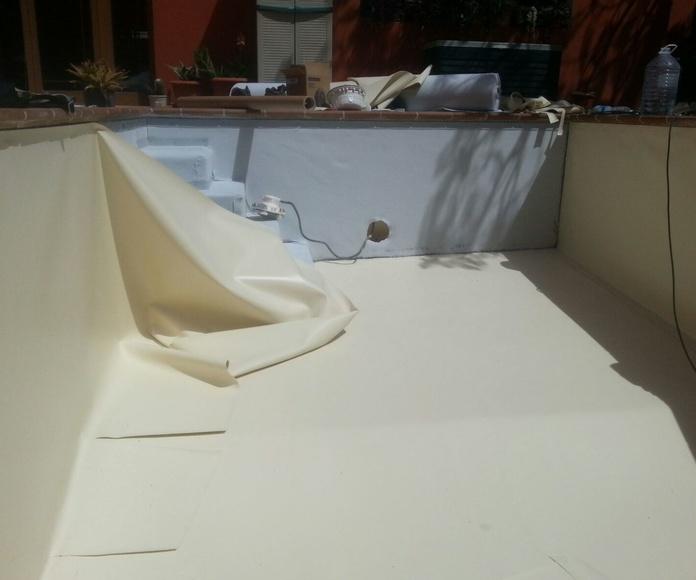Proceso reparación piscina: Impermeabilizaciones de Gran Canaria - Fuerteventura - Lanzarote