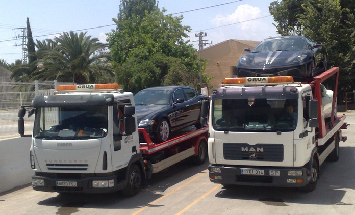 grua para vehiculos