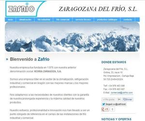 Nueva web de Zafrio