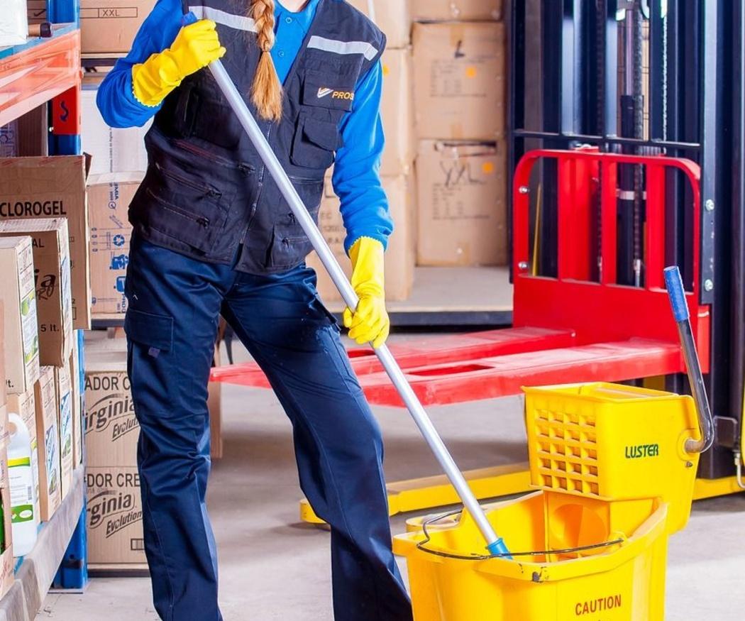 Medidas de seguridad para la limpieza profesional