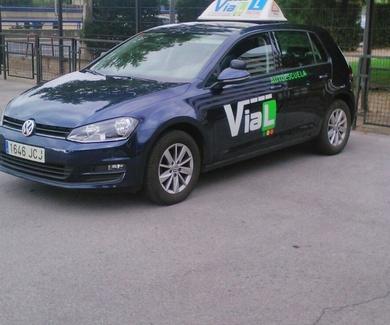 Nuevo coche de practicas. Autoescuela Vial Logroño