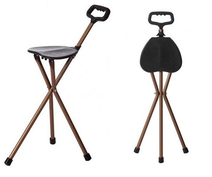 Bastón con asiento: Productos y servicios de Ortopedia Delgado, S. L.