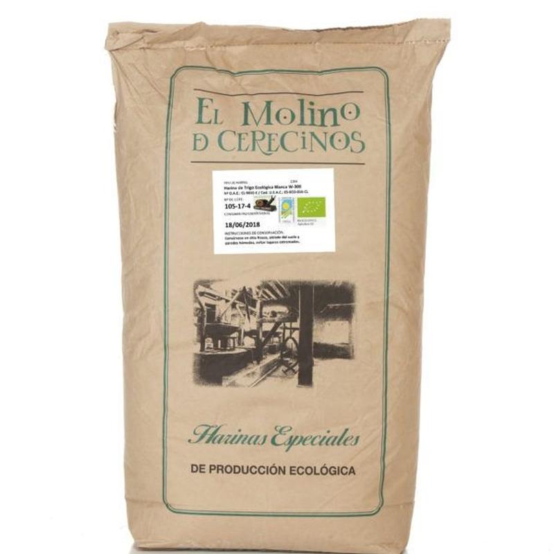 Harina de trigo ecológica blanca W-300 25 kg: Productos de Coperblanc Zamorana