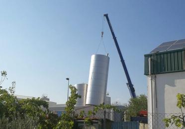 Depositos de almacenamiento de acero inoxidable AISI-304 y AISI-316