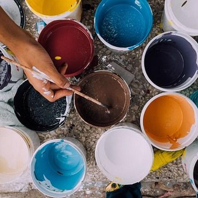 Los mejores tipos de pintura y sus usos