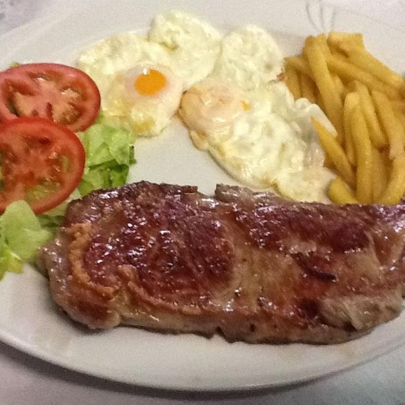 Solomillo de cerdo: Menús de Restaurante Terraza La Parrilla de Valdemoro